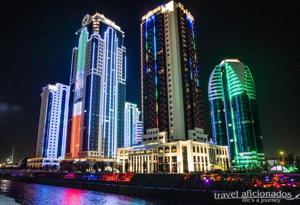 Grozny - downtown